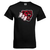 Black T Shirt-BSU w/ Bear Head