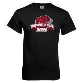 Black T Shirt-Primary Mark Distressed
