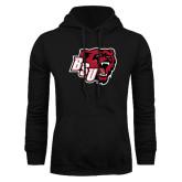 Black Fleece Hoodie-BSU w/ Bear Head