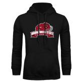 Black Fleece Hoodie-Bridgewater State University w/ Bear