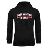Black Fleece Hoodie-Bridgewater State University Bears