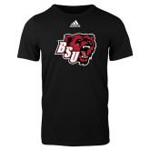 Adidas Black Logo T Shirt-BSU w/ Bear Head
