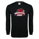 Black Long Sleeve T Shirt-Primary Mark