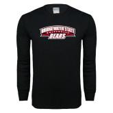Black Long Sleeve T Shirt-Bridgewater State University Bears
