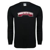 Black Long Sleeve T Shirt-Bridgewater State University