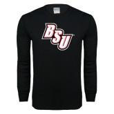 Black Long Sleeve T Shirt-BSU