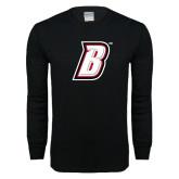 Black Long Sleeve T Shirt-B