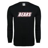Black Long Sleeve T Shirt-Bears