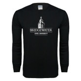 Black Long Sleeve T Shirt-University Mark