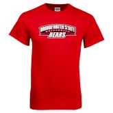 Red T Shirt-Bridgewater State University Bears