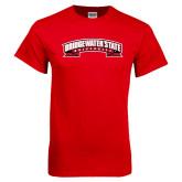 Red T Shirt-Bridgewater State University