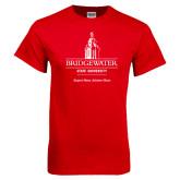 Red T Shirt-University Mark w Tag Line
