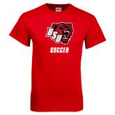 Red T Shirt-Soccer