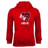 Red Fleece Hoodie-Soccer
