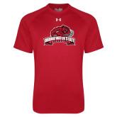 Under Armour Red Tech Tee-Bridgewater State University w/ Bear