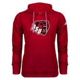 Adidas Climawarm Red Team Issue Hoodie-BSU w/ Bear Head