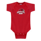 Red Infant Onesie-Primary Mark