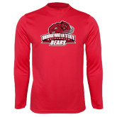 Syntrel Performance Red Longsleeve Shirt-Primary Mark
