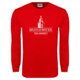 Red Long Sleeve T Shirt-University Mark