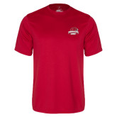 Syntrel Performance Red Tee-Primary Mark