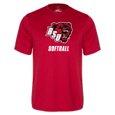Syntrel Performance Red Tee-Softball