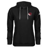 Adidas Climawarm Black Team Issue Hoodie-BSU w/ Bear Head