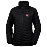 Columbia Lake 22 Ladies Black Jacket-BSU w/ Bear Head
