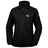 Columbia Mighty LITE Ladies Black Jacket-BSU w/ Bear Head