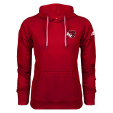 Adidas Climawarm Red Team Issue Hoodie-BSU w/ Bear Head