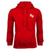 Red Fleece Hoodie-BSU