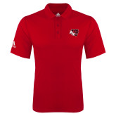 Adidas Climalite Red Grind Polo-BSU w/ Bear Head