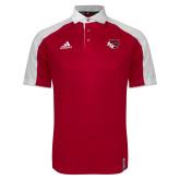 Adidas Modern Red Varsity Polo-BSU w/ Bear Head