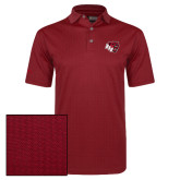 Callaway Red Jacquard Polo-BSU w/ Bear Head