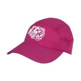 Pink Pace Setter Cap-BSU w/ Bear Head