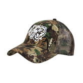 Camo Pro Style Mesh Back Structured Hat-BSU w/ Bear Head
