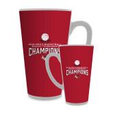 Full Color Latte Mug 17oz-2018 Mens Basketball Champions