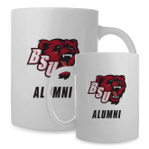 Alumni Full Color White Mug 15oz-Alumni