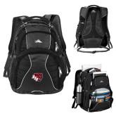 High Sierra Swerve Compu Backpack-BSU w/ Bear Head