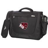 High Sierra Black Upload Business Compu Case-BSU w/ Bear Head