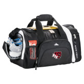 High Sierra Black 22 Inch Garrett Sport Duffel-BSU w/ Bear Head