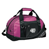 Ogio Pink Half Dome Bag-BSU w/ Bear Head