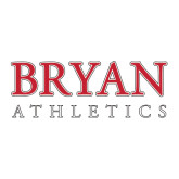 Large Decal-Bryan Athletics Stacked, 12 in wide