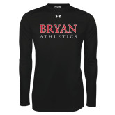 Under Armour Black Long Sleeve Tech Tee-Bryan Athletics Stacked