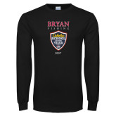 Black Long Sleeve T Shirt-Bryan Fishing Champions