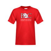 Youth Red T Shirt-Track and Field - Cross Country