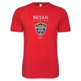 Next Level SoftStyle Red T Shirt-Bryan Fishing Champions