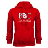 Red Fleece Hoodie-Track and Field - Cross Country