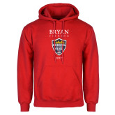 Red Fleece Hoodie-Bryan Fishing Champions