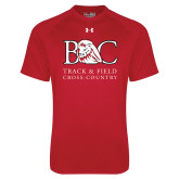 Under Armour Red Tech Tee-Track and Field - Cross Country