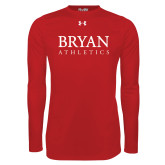 Under Armour Red Long Sleeve Tech Tee-Bryan Athletics Stacked